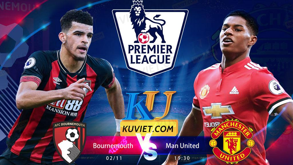 Bournemouth vs Manchester United 19h30 ngày 02.11